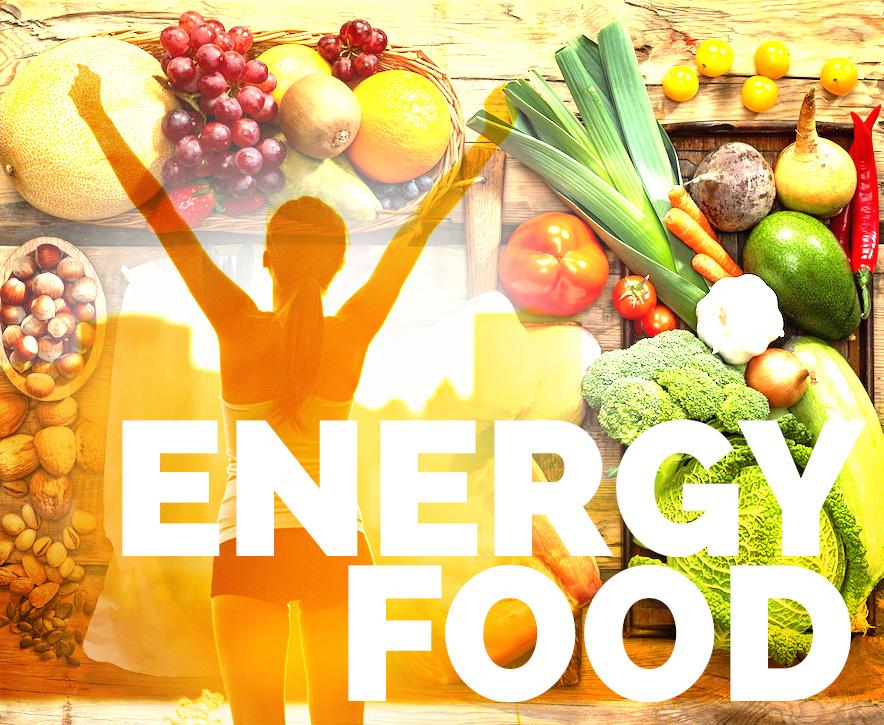 Energy Food: Power-Food für Geist und Körper