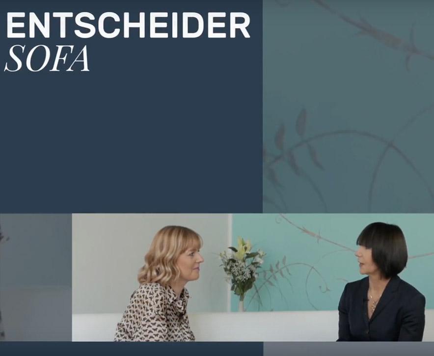 Das EntscheiderSofa by Lisa Zimmermann